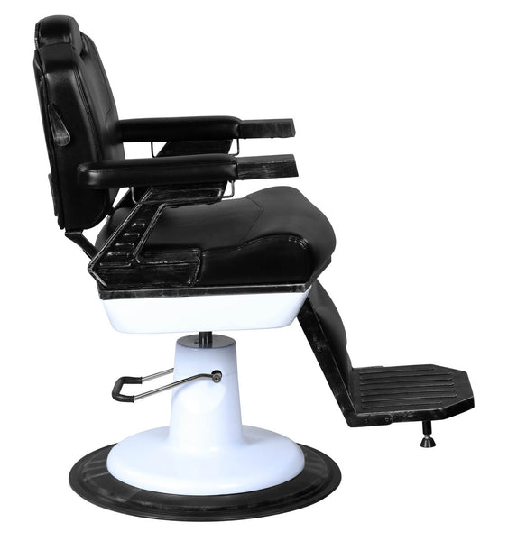 """Arthur"" Professional Reclining Vintage Barber Chair"