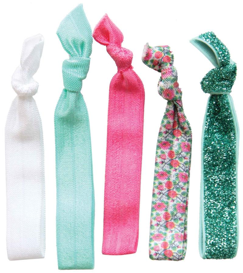 Dye Tie Hair Tie Set - 5 ct Hair Barrettes, Bands & Ties Dye Tie Boho Babe