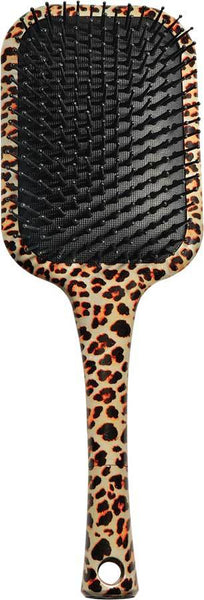 Phillips Leopard Rectangular Rubber Cushion Paddle Brush