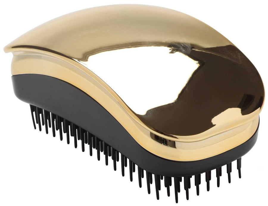"Hair Tamer ""Kink"" Detangling Hair Brush Teezer Hair Brushes Hair Tamer Gold"