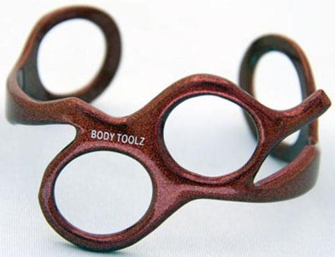 Body Toolz Scissor Bracelet, Red
