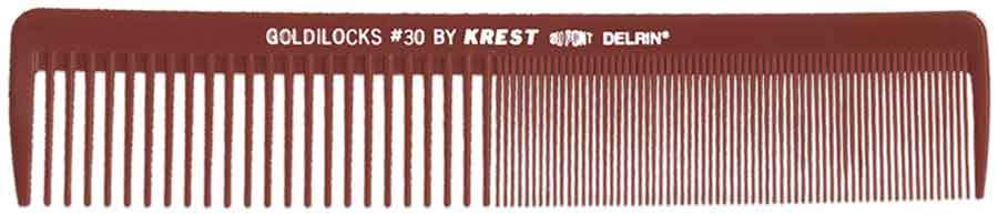 "Krest Goldilocks 7 3/4"" Square Master Waver 12 ct Hair Combs & Picks Krest Default Title"