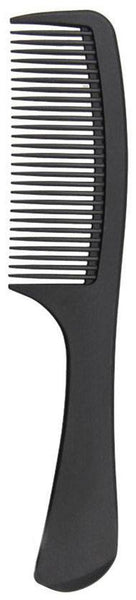 Carbon Hair Comb with Handle Hair Combs & Picks Hair Tamer Default Title
