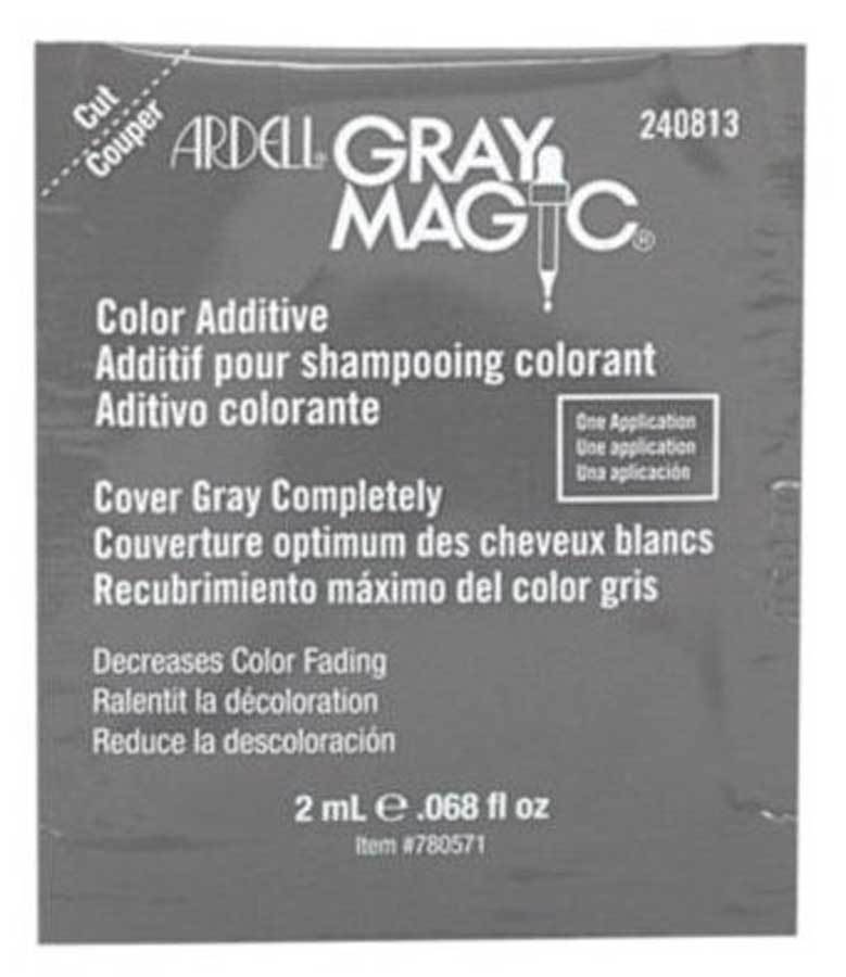 Ardell Gray Magic Hair Color Additive Packette Salon Guys