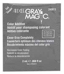 Ardell Gray Magic Hair Color Additive Packette