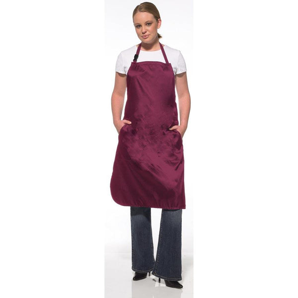 Olivia Garden Charm All Purpose Apron, Burgundy Stylist Apparel Olivia Garden