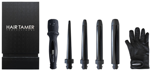 Hair Tamer 4-in-1 Clipless Curling Iron Set Curling Irons Hair Tamer Default Title