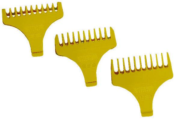 Wahl #1/2 - 1 1/2 T-Trimmer Guides Hair Clipper Blades & Guides Wahl Default Title