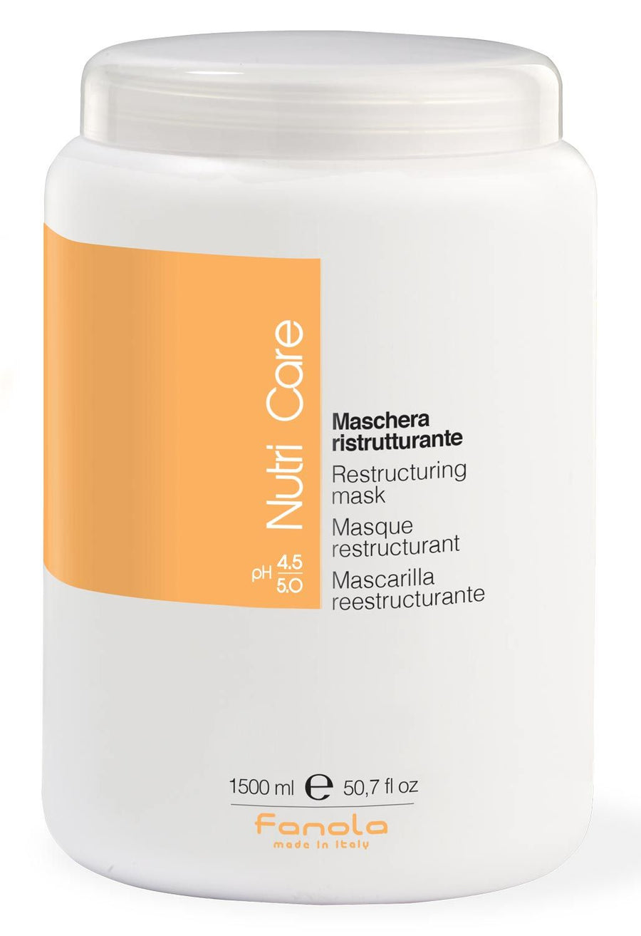 Fanola Nutri Care Restructuring Mask Hair Treatments Fanola 1500 mL