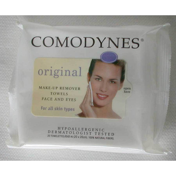 Comodynes Make-Up Remover Towelettes, Combination and Oily Skin Make Up Remover Comodynes