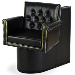 """Bronson"" Beauty Salon Dryer Chair, Black Dryer Chairs Icarus Default Title"
