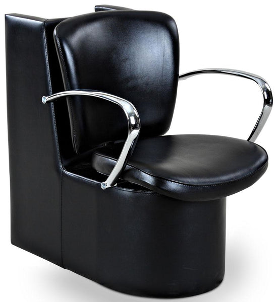"""Andrews"" Beauty Salon Dryer Chair, Black Dryer Chairs Icarus"