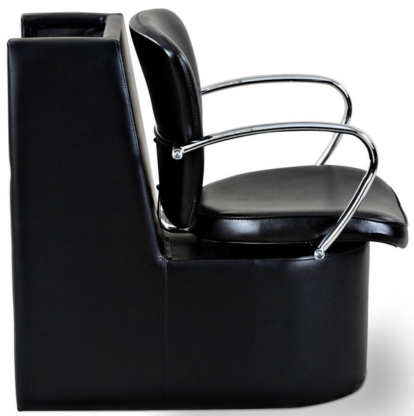 """Andrews"" Beauty Salon Dryer Chair, Black"