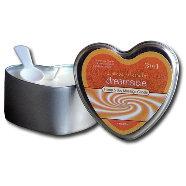 Earthly Body 3-in-1 Heart-Shape Candle