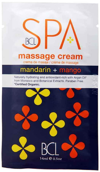 BCL Spa Massage Cream Packette