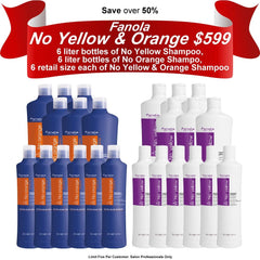 Fanola No Yellow & Orange Deal Hair Shampoos Fanola Pro2 Default Title
