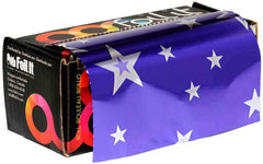 Foil It Small Foil Roll - 320 ft Foil Framar Paparazzi Purple Stars