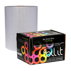 Foil It Star Struck Silver Embossed Light Foil Roll 360ft