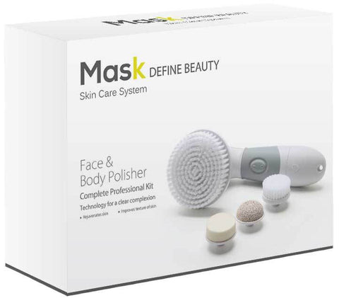 Mask Facial Brush & Body Polisher Skin Cleansing System