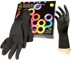 Foil It Color Me Fab Reusable Latex Gloves - 10 ct