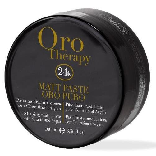 Fanola Oro Puro Matte Shaping Paste Hair Gels, Glues, & Pastes Fanola 100 ml