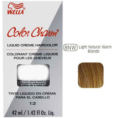 Wella Color Charm Natural Liquid Creme Haircolor Permanent Hair Coloring Wella Light Warm Blonde