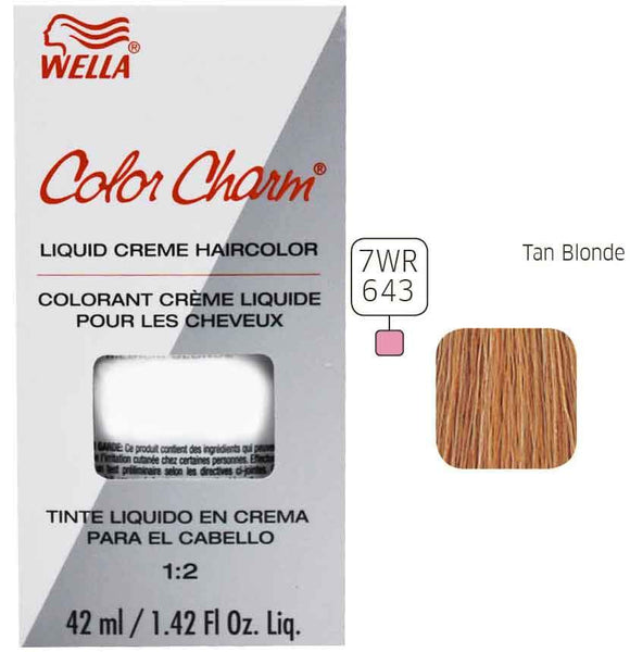 Wella Color Charm Warm Liquid Creme Haircolor