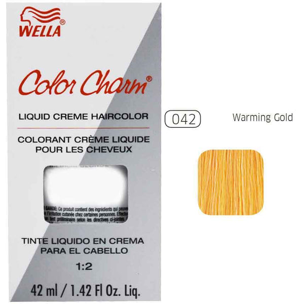 Color Charm Warming Gold Liquid Creme Hair Color
