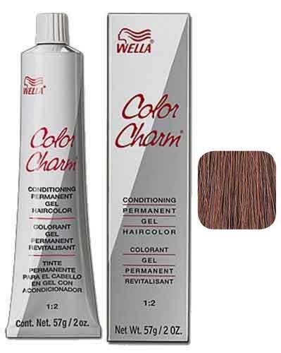 Wella Color Charm Red Permanent Gel Haircolor Permanent Hair Coloring Wella Burgundy