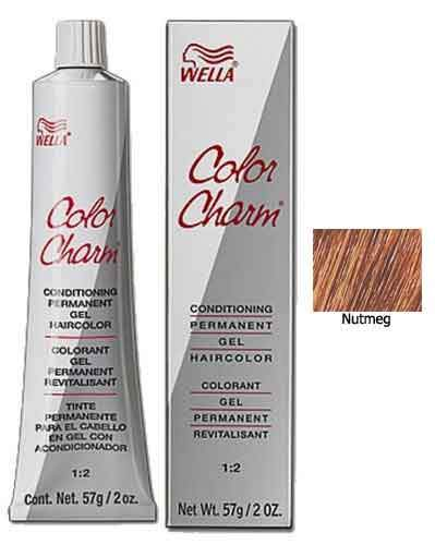 Wella Color Charm Warm Permanent Gel Haircolor