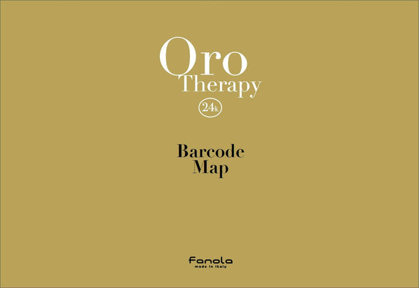 Fanola Oro Therapy Barcode Map Hair Color Accessories Fanola Default Title