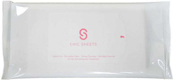 Chic Sheets Refreshing Dry Towelettes - 25ct