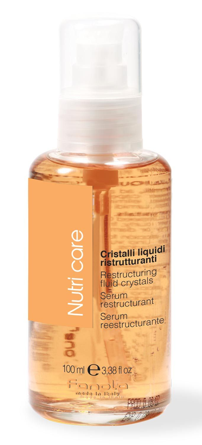 Fanola Nutri Care Restructuring Fluid Crystals, 100 ml Hair Treatments Fanola 100 ml