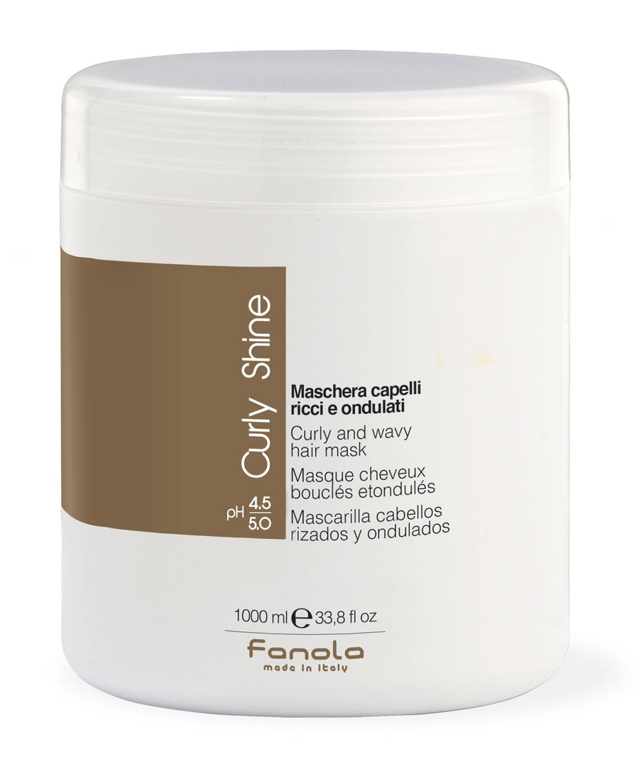 Fanola Curly Shine Hair Mask Hair Treatments Fanola 1000 mL