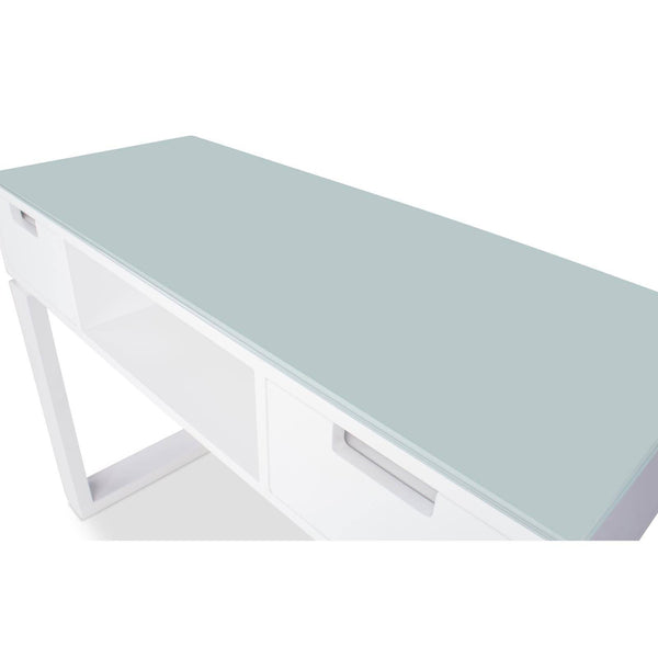 "Icarus ""Ming"" Manicure Table With Glass Top Manicure Tables Icarus"