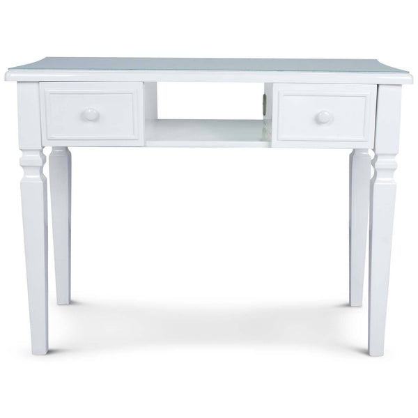 "Icarus ""Yao"" Manicure Table With Glass Top Manicure Tables Icarus"