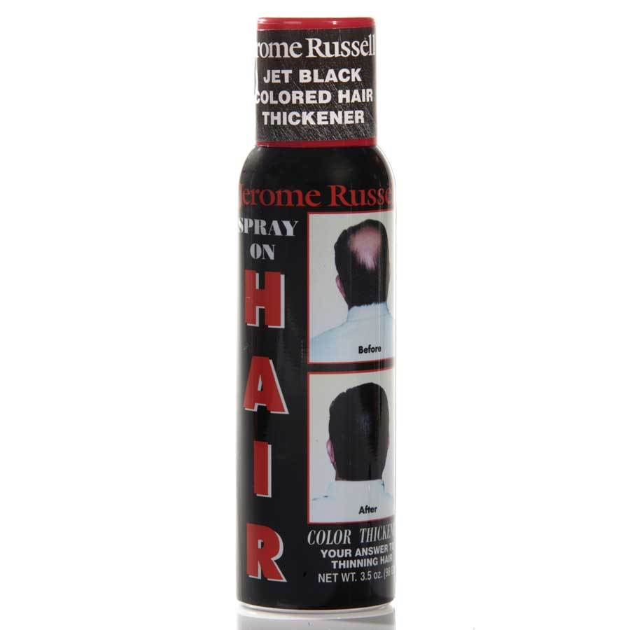 Jerome Russell Spray On Hair Color Thickener Dark Brown 872