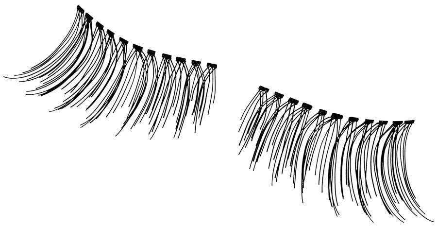 Andrea Black Accent Lashes Lashes Andrea