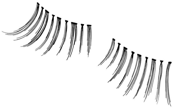 Andrea Black Accent Lashes Lashes Andrea #308 4 pairs