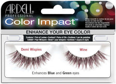 Ardell Color Impact Demi Wispies Lashes Lashes Ardell Wine