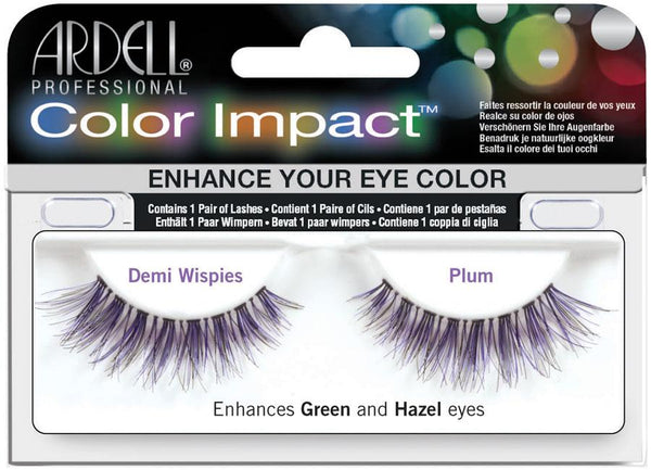 Ardell Color Impact Demi Wispies Lashes Lashes Ardell Plum