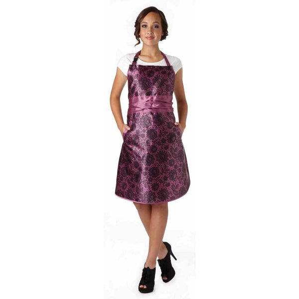 Olivia Garden All Purpose Apron, Plum Stylist Apparel Olivia Garden Default Title