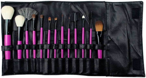 Royal Brush Essentials 13 pc Natural Hair Pink Brush Set