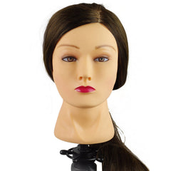 "Cosmetology Mannequin Head Synthetic Hair 20"" - 24"""