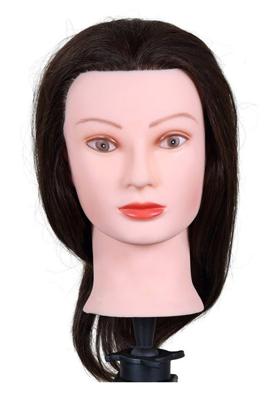 "Icarus ""Laura"" Cosmetology Mannequin Head, 12"" - 15"" Synthetic Hair Mannequin Heads Icarus Default Title"