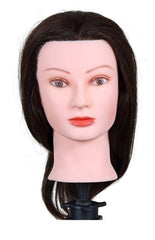 "Icarus ""Laura"" Cosmetology Mannequin Head, 12"" - 15"" Synthetic Hair"