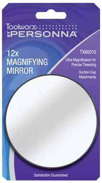 Toolworx 12x Suction Cup Mirror
