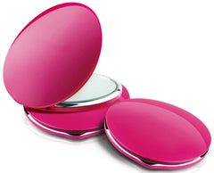 Mask LED Portable Compact Makeup Mirror Dual-Sided 1x/2x