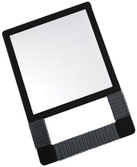 Icarus Black Unbreakable Mirror With Rubber Grip Mirrors Icarus Default Title