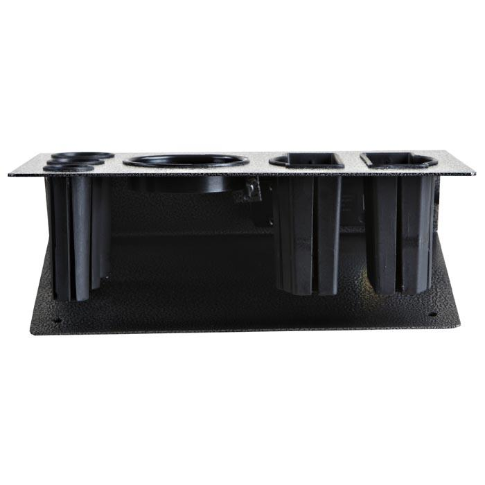 """Oxford"" Desktop Appliance Holder W/ Outlet Iron Blower Appliance Holders Icarus"